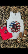 Sunflower Flag Tank Top - Also in Plus Size