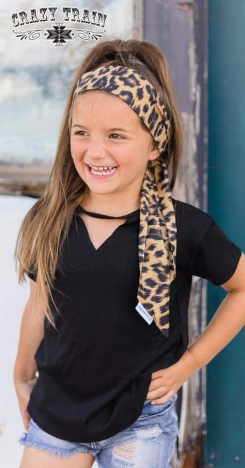 Kids Black Midland Top