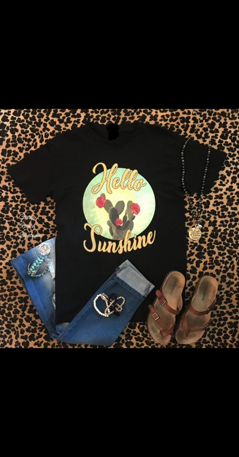 Hello Sunshine Cactus Top - Also in Plus Size