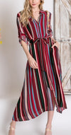 Hunsley Hills Stripe Duster Cardigan or Dress