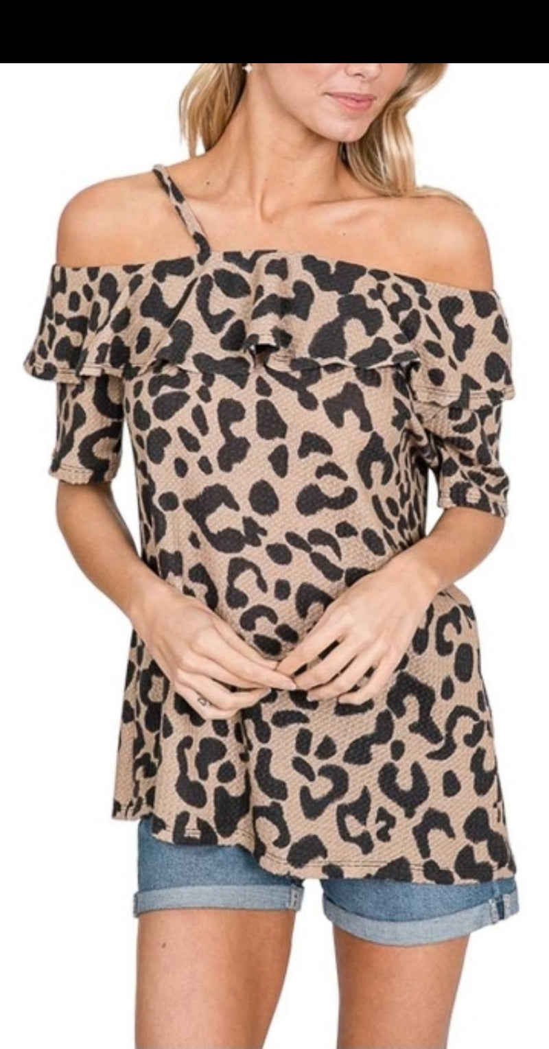 Lara Leopard Top