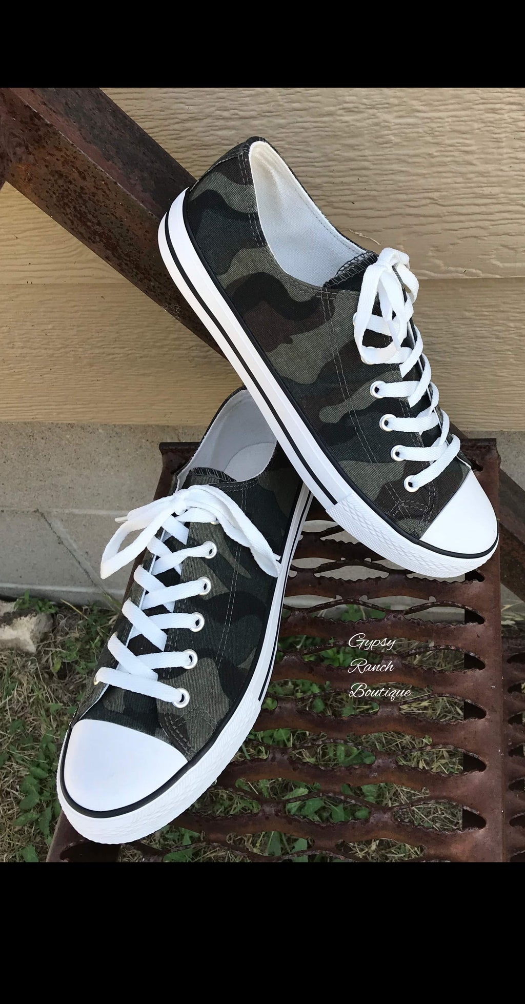 Cambridge Camo Shoes