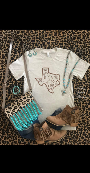 Texas Ride For the Brand Top - Also in Plus Size