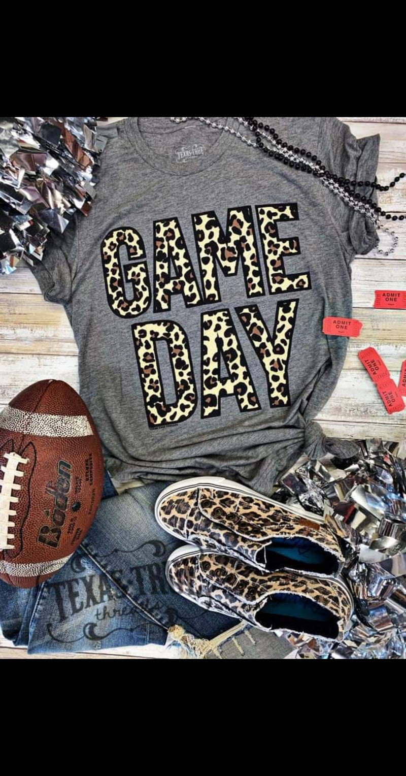 Leopard Game Day Top - Also in Plus Size