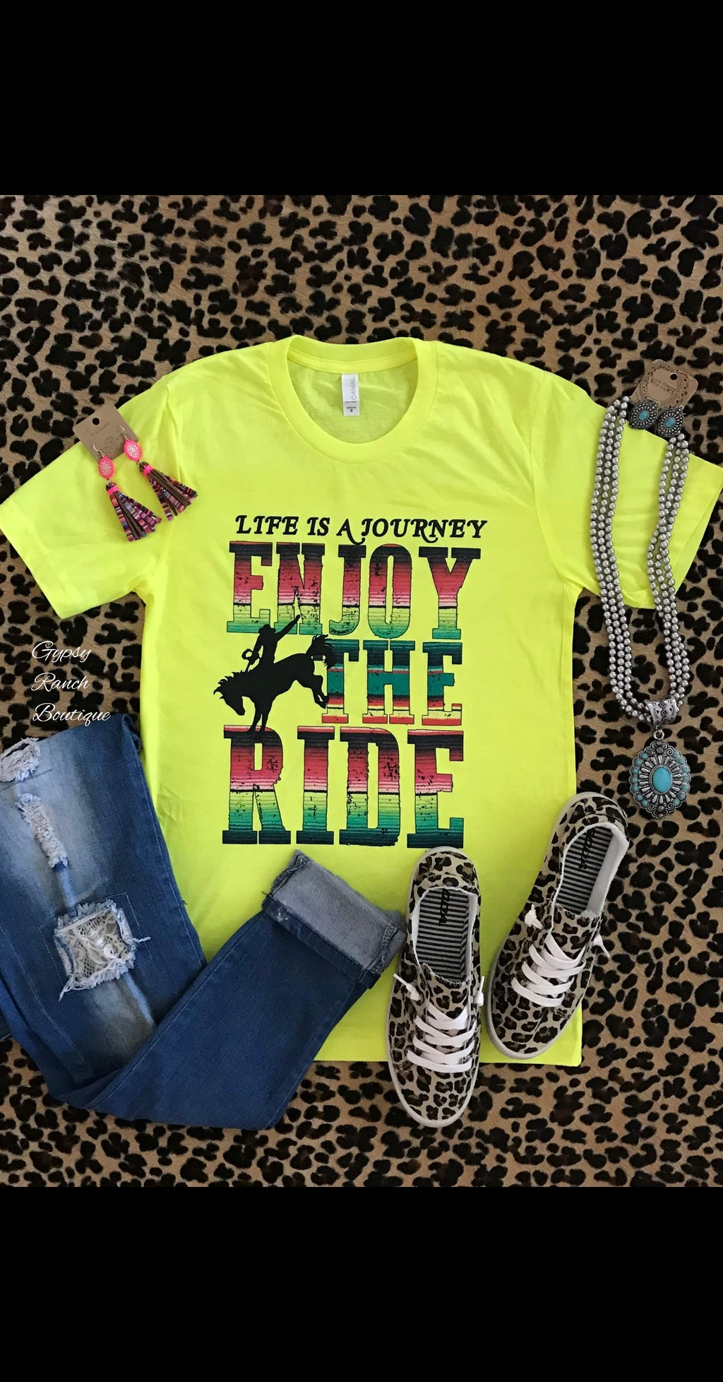 Life is a Journey Enjoy the Ride Top - Also in Plus Size
