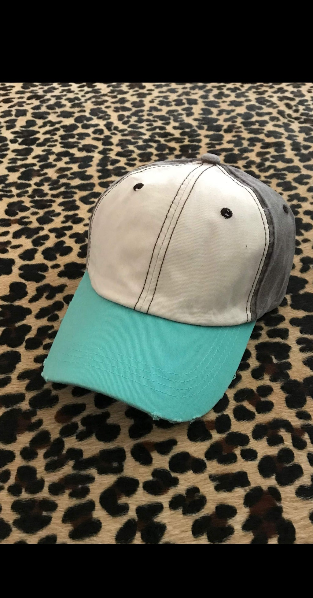 Talan Color Block Cap