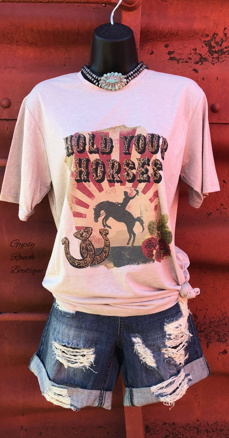 Hold Your Horses Top - Also in Plus Size