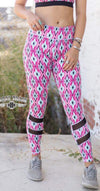 Pretty Woman Aztec Crossfit Athletic Pants - Also in Plus Size
