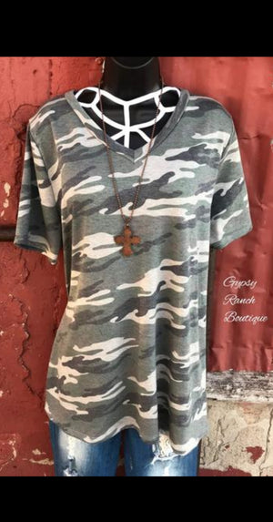 Final Edition Camo Tee - Also in Plus Size
