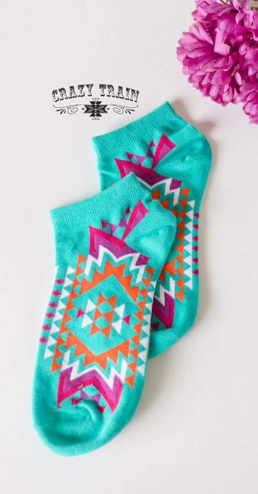 Sock & Roll Aztec Socks