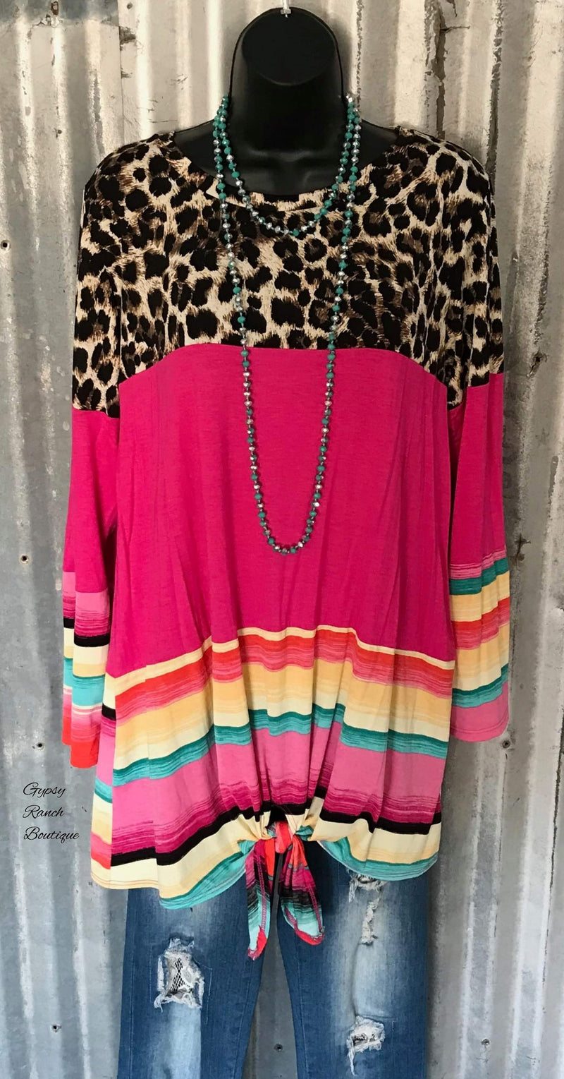 Sandia Serape Top - Also in Plus Size