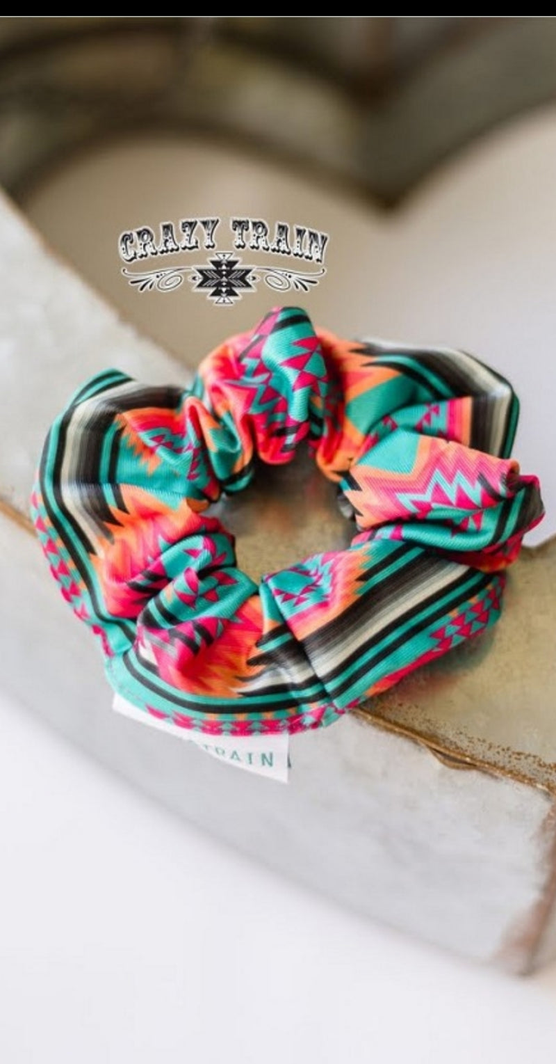 Brim Pickens Tribal Scrunchie