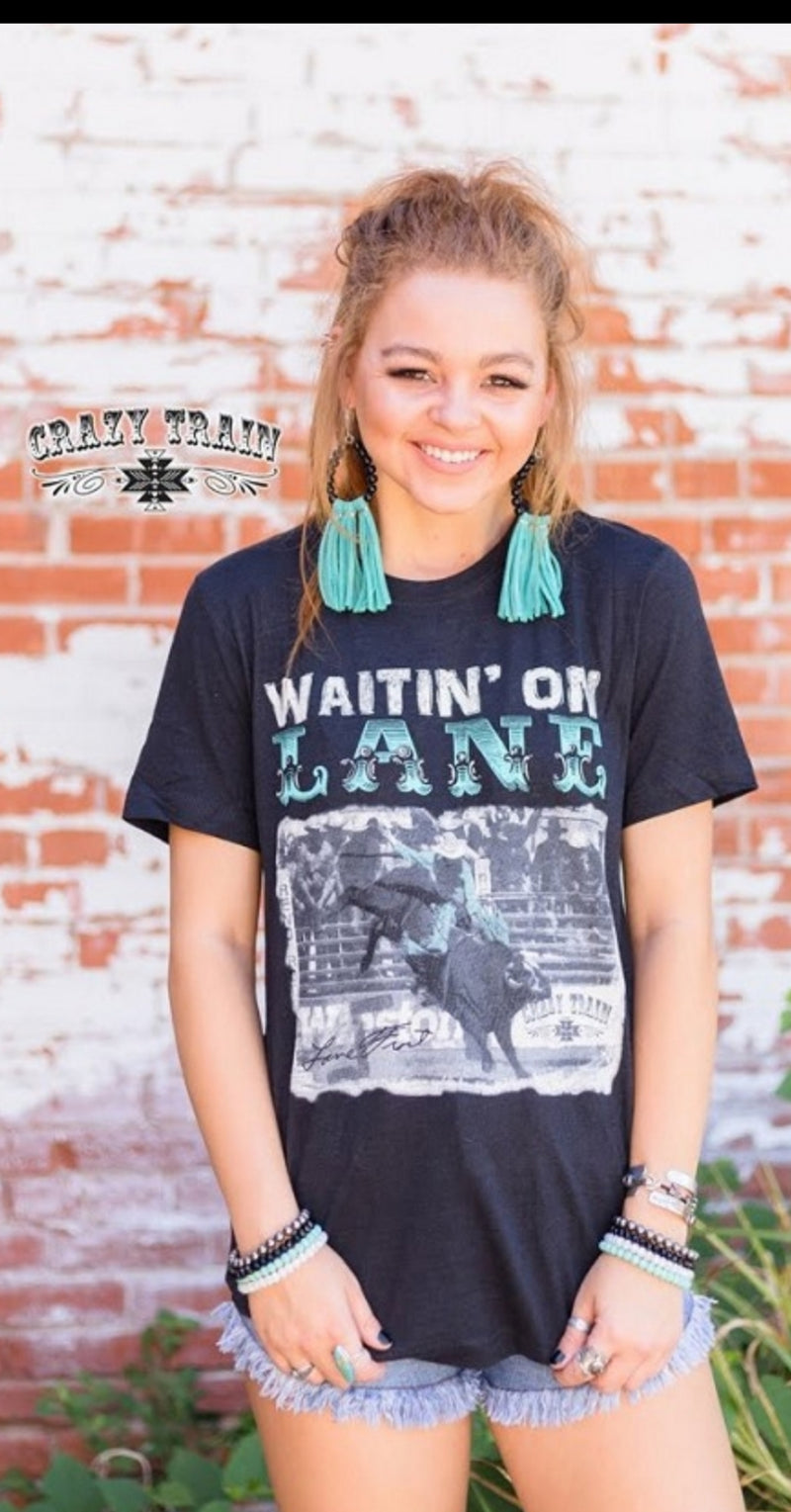 Waitin On Lane Top - Also in Plus Size
