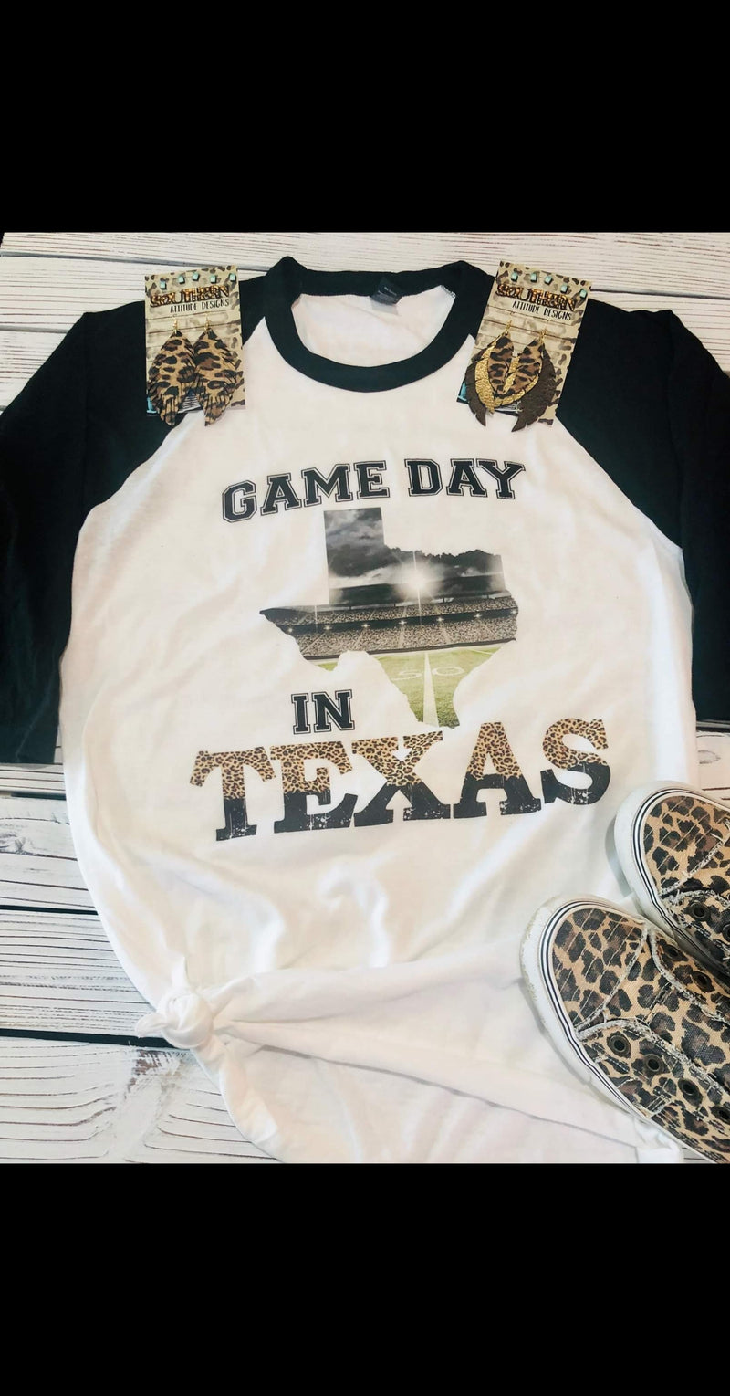 Game Day in Texas Top - Also in Plus Size