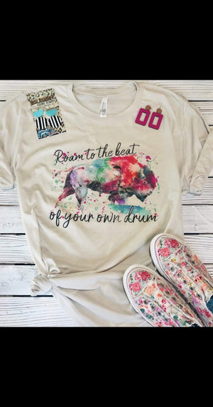 Roam To The Beat Of Your Own Drum Top - Also in Plus Size
