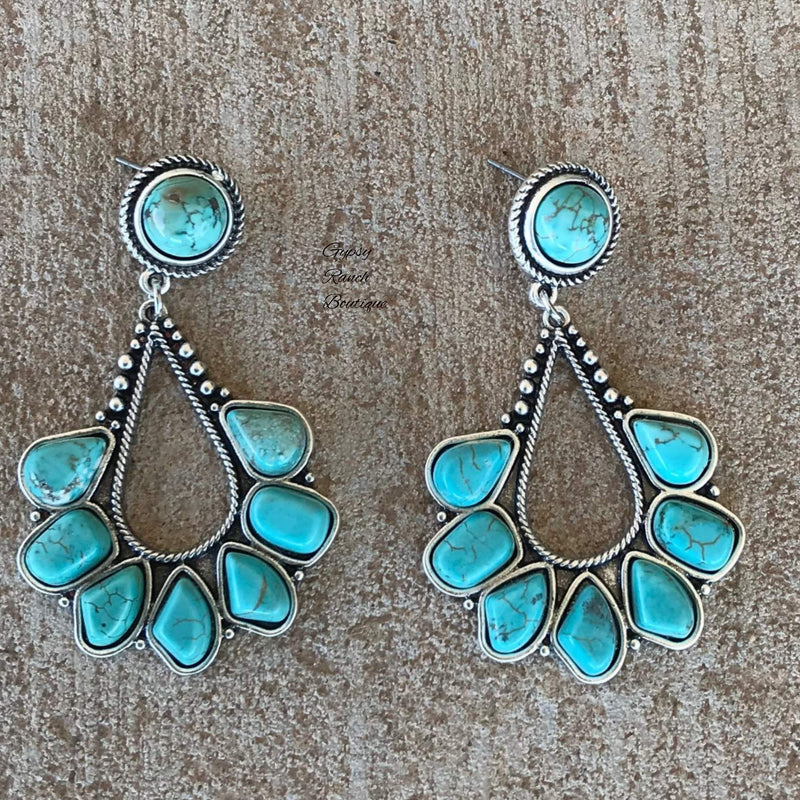Canadian Turquoise  Earrings