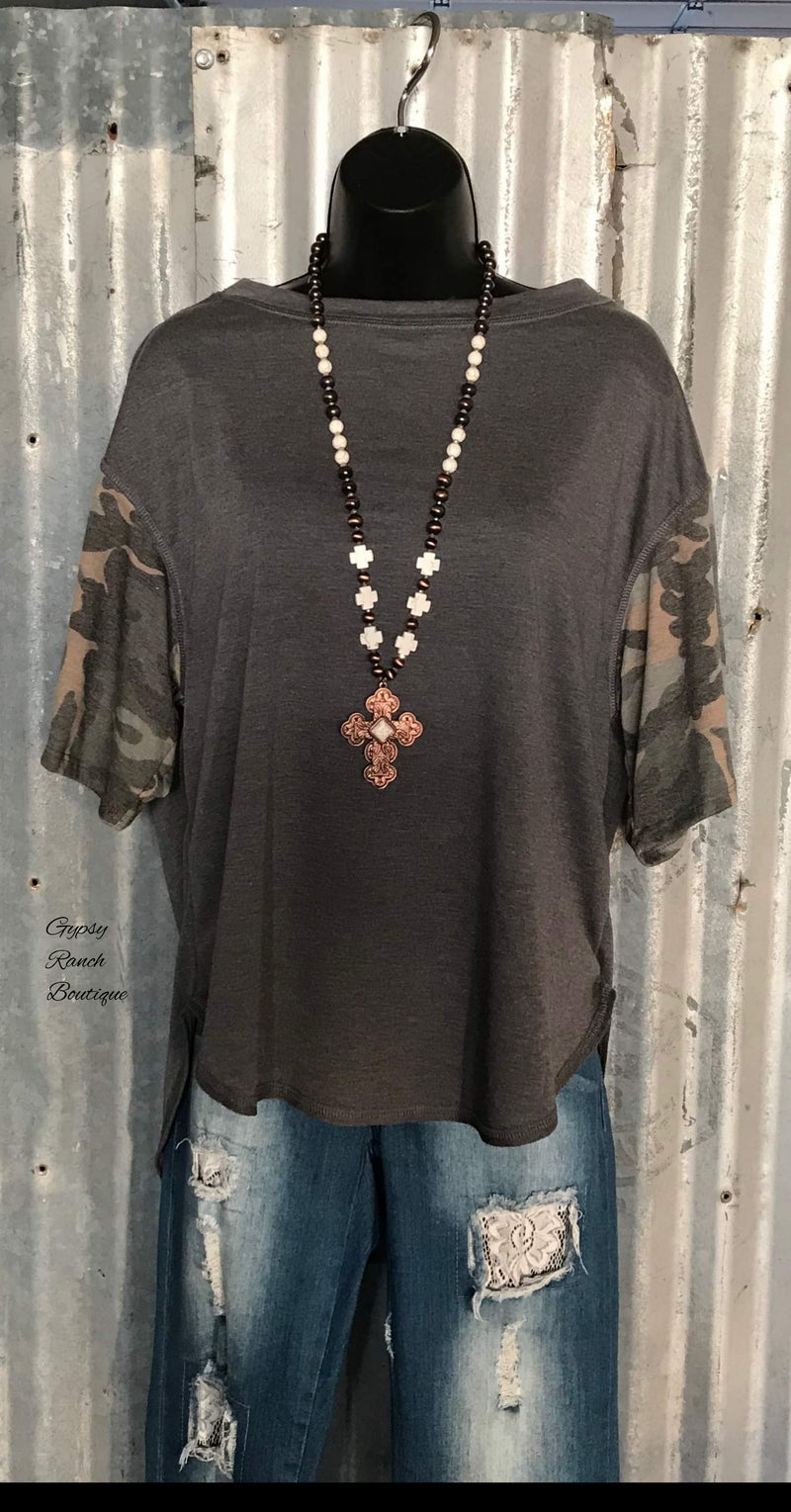Carrizo Camo Top - Also in  Plus Size