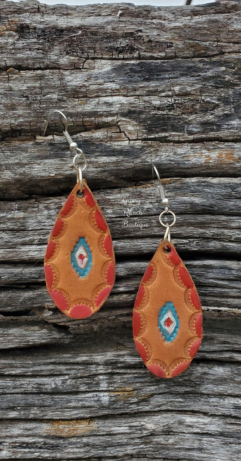 The Asa Leather Earrings