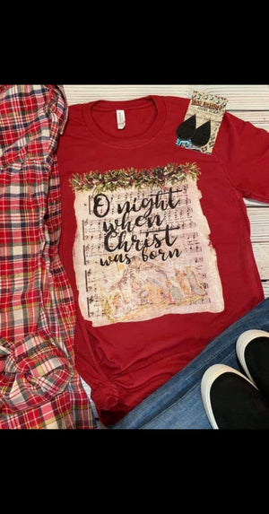 O' Night When Christ Was Born Top - Also in Plus Size