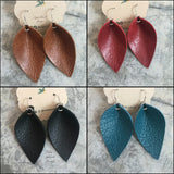 Laverty Leather Earrings - Several Colors