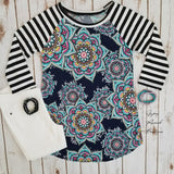 Emery Medallion Top - Also in Plus Size