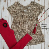 Late Night Leopard Top - Also in Plus Size
