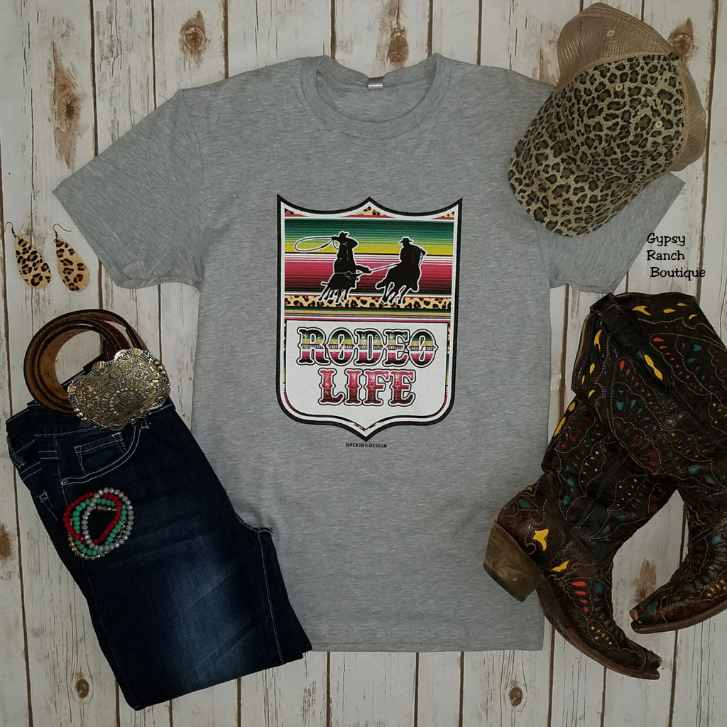 Rodeo Life Team Roper Top - Also in Plus Size