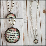 Mom's Blessing Necklace
