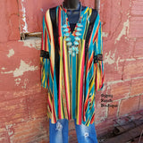 Jade Serape Tunic - Also in Plus Size