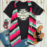 Southern Serape Vest-Also in Plus Size