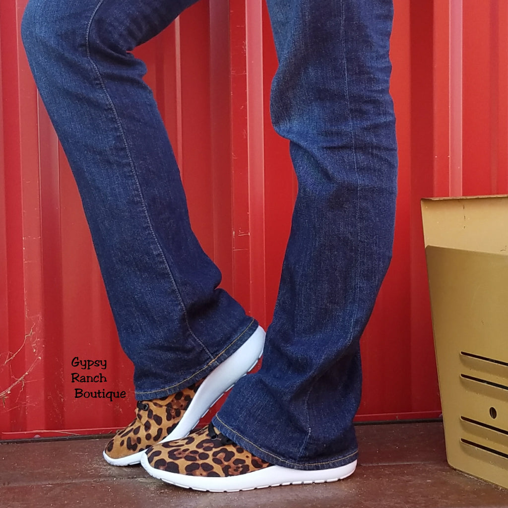 Run Wild Leopard Sneakers