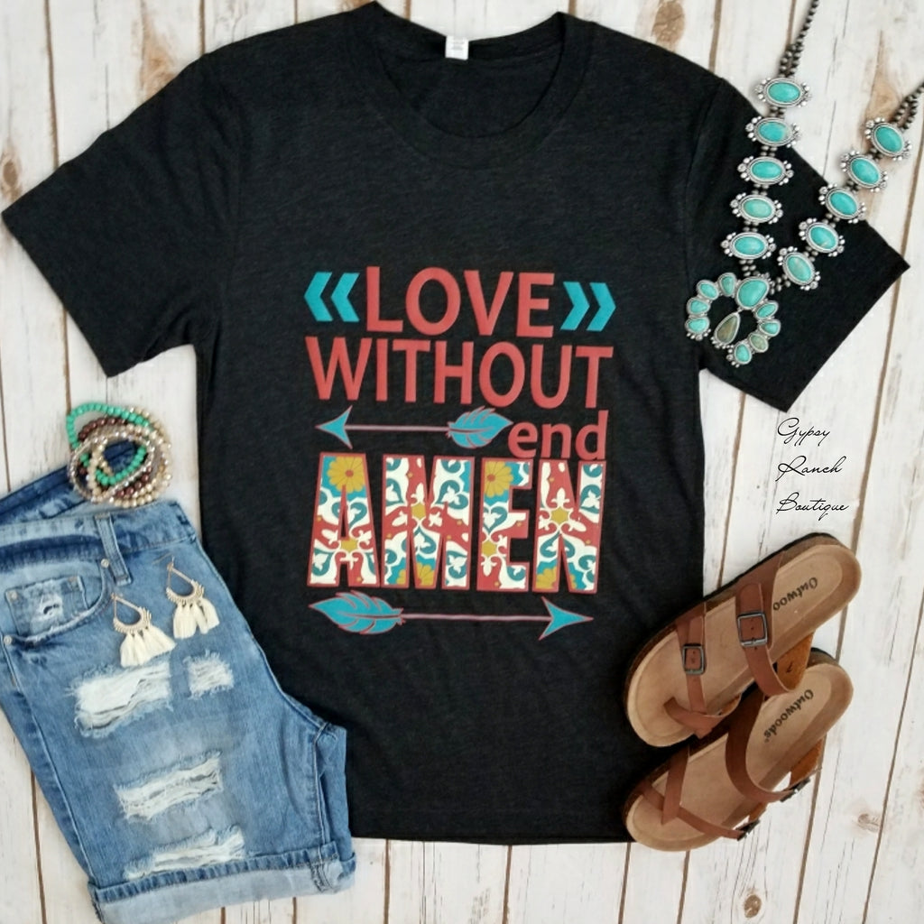 Love Without End Amen Top - Also in Plus Size
