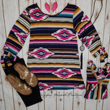 Perfect Catch Tribal Top - Also in Plus Size