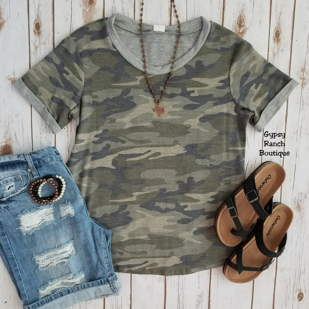 Remedy Camo Top