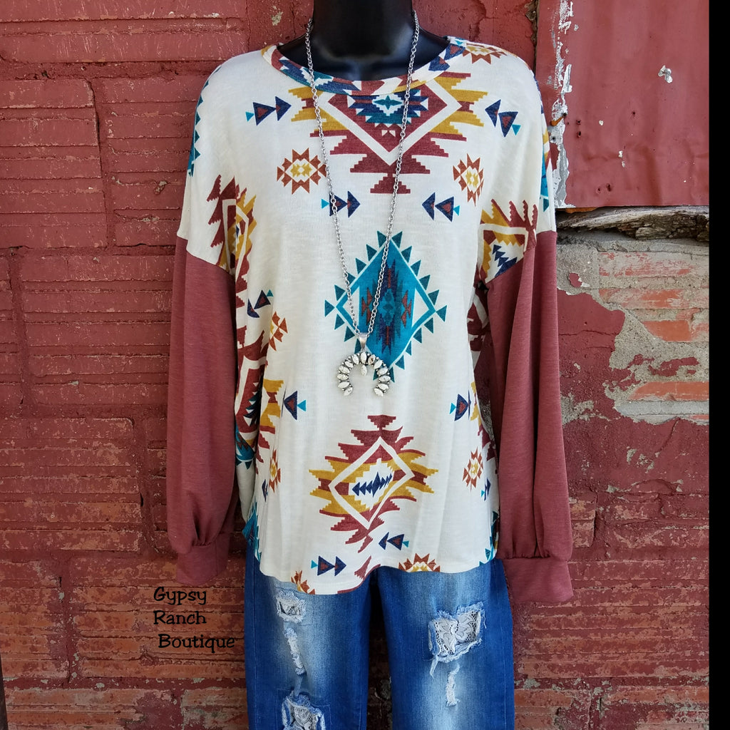 Endless Grace Tribal Top