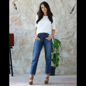 Brynlee Boyfriend Jeans - Also in Plus Size