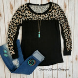 Last Call Leopard Leopard Top - Also in Plus Size