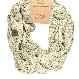 CC Infinity Scarf - Mustard or Oatmeal