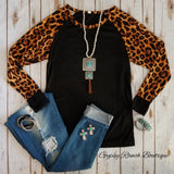 Sailors Revenge Leopard Top
