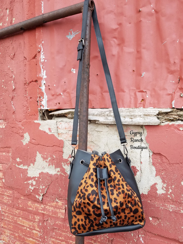 Vegas Leopard Purse