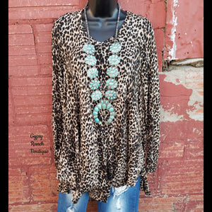 Night Life Leopard Top - Also in Plus Size