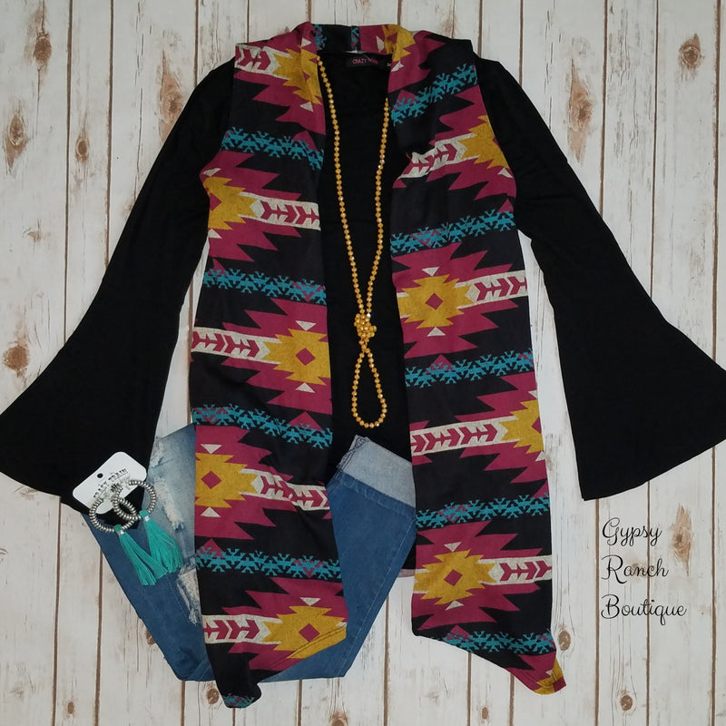 Sterling Tribal Vest - Also in Plus Size