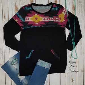 Toronto Tribal Top - Also in Plus Size