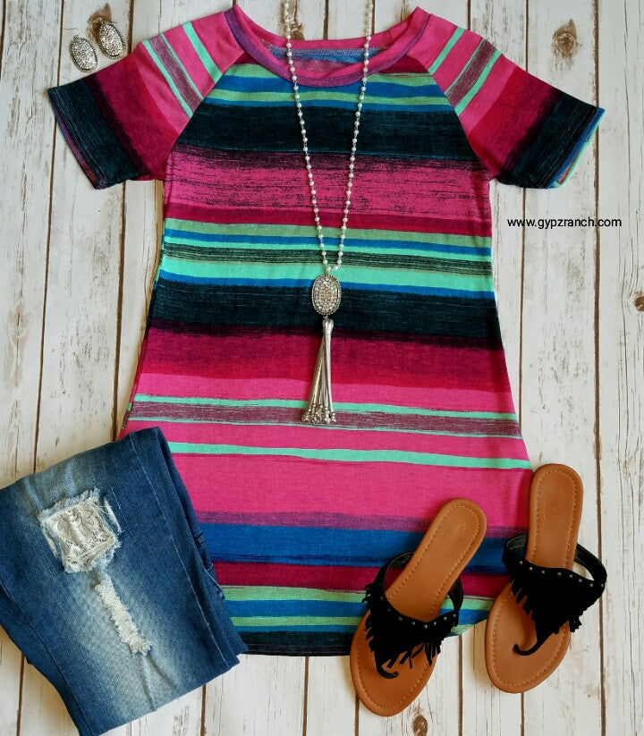 Take Me Into Spring Serape Top - Also in Plus Size