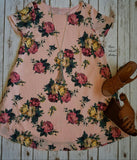 Off the Charts Floral Tunic Dress