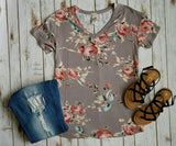Kentucky Floral Top