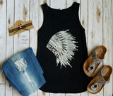 Jillian Headdress Tank Top