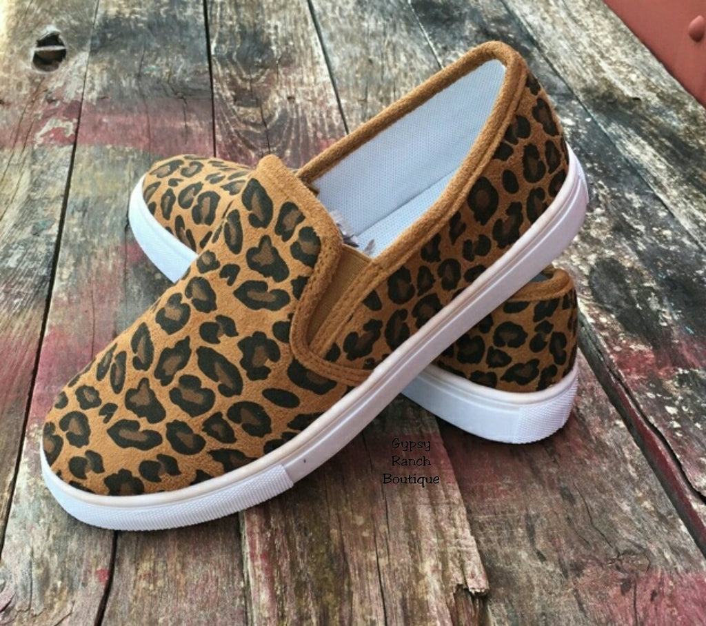 Lambert Leopard Slip on Shoes