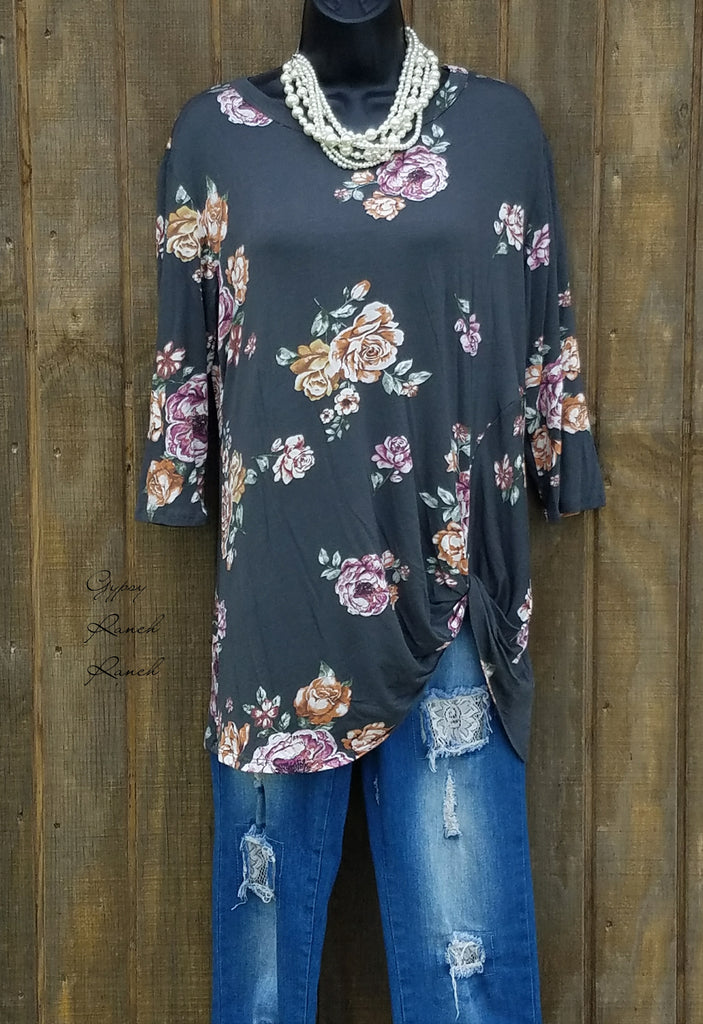 Waiting on You Floral Top - Also in Plus Size