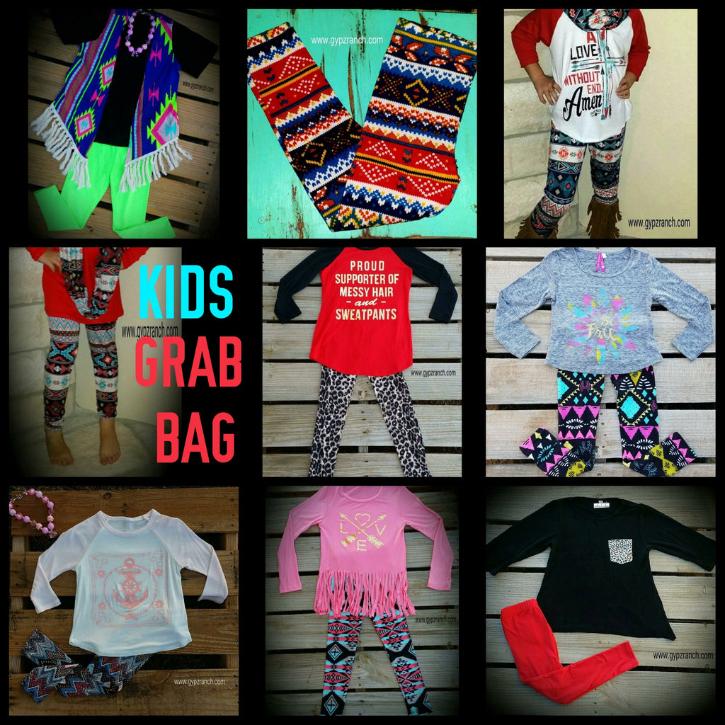 KIDS leggings GRAB BAG > SMALL - MED